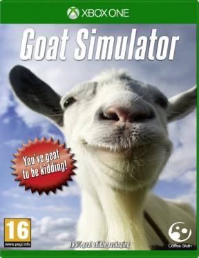 Goat Simulator Xbox One Cover
