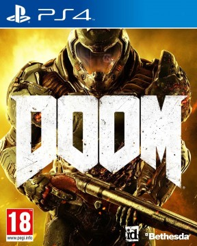 DOOM (2016) PS4 Cover