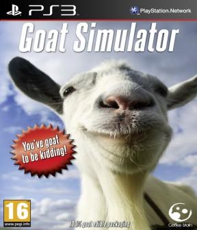 Goat Simulator PS3 Cover