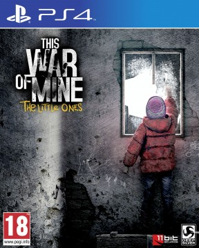 This War of Mine: The Little Ones PS4 Cover