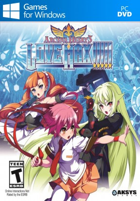 Arcana Heart 3: LOVE MAX!!!!! PC Cover