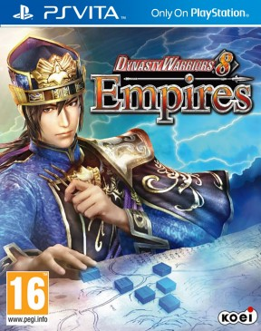Dynasty Warriors 8: Empires PS Vita Cover