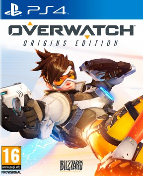 Overwatch PS4 Cover