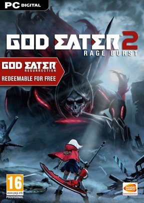 God Eater 2: Rage Burst PC Cover