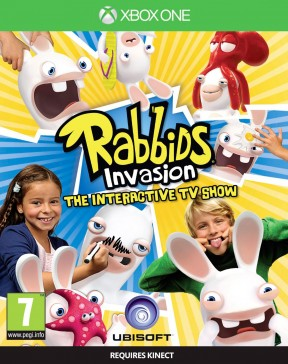 Rabbids Invasion: Lo Show Televisivo Interattivo Xbox One Cover