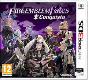 Fire Emblem Fates: Conquista 3DS Cover