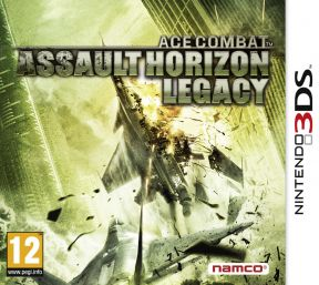 Ace Combat: Assault Horizon Legacy + 3DS Cover