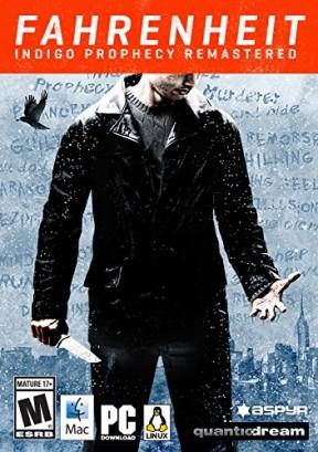 Fahrenheit: Indigo Prophecy Remastered PC Cover
