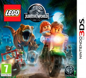 LEGO Jurassic World 3DS Cover