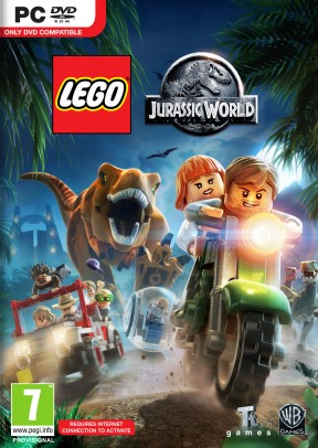 LEGO Jurassic World PC Cover