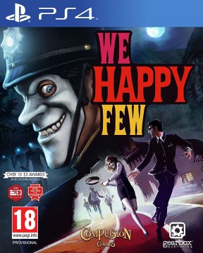 We Happy Few PS4 Cover