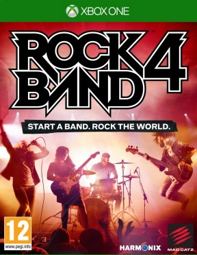 Rock Band 4 Xbox One Cover