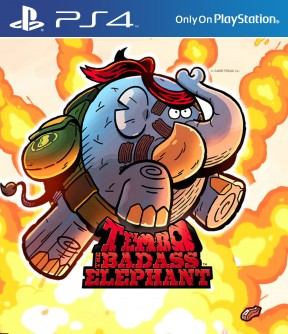 Tembo The Badass Elephant PS4 Cover