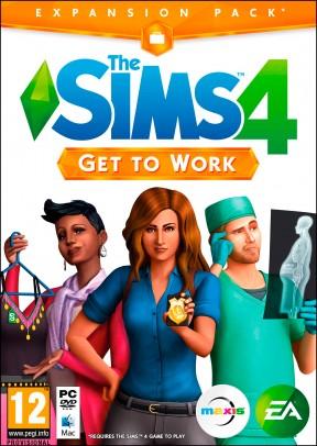 The Sims 4: Al Lavoro! PC Cover