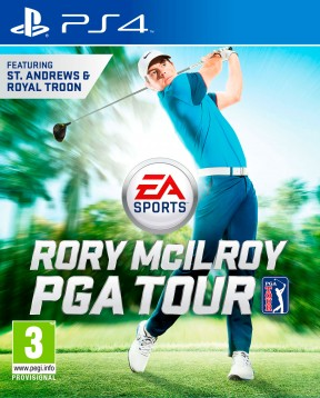 Rory McIlroy PGA Tour PS4 Cover