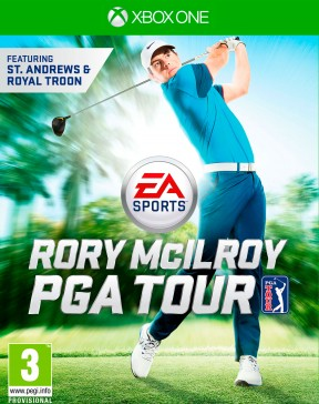 Rory McIlroy PGA Tour Xbox One Cover