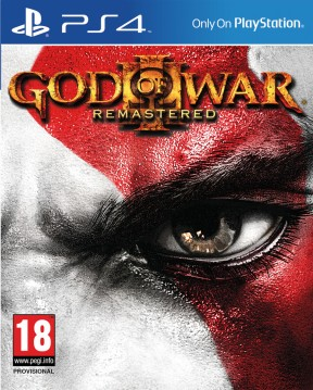 God of War III Remastered PS4 Cover
