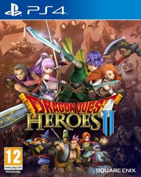 Dragon Quest Heroes 2 PS4 Cover