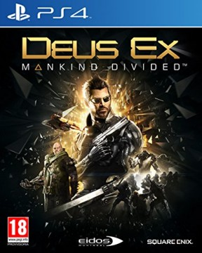 Deus Ex: Mankind Divided PS4 Cover