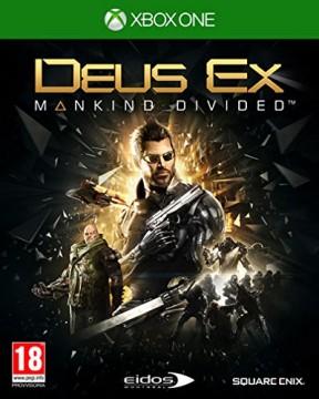 Deus Ex: Mankind Divided Xbox One Cover