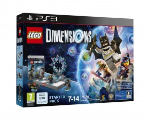 LEGO: Dimensions PS3 Cover