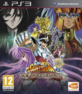 Saint Seiya: Soldiers' Soul PS3 Cover