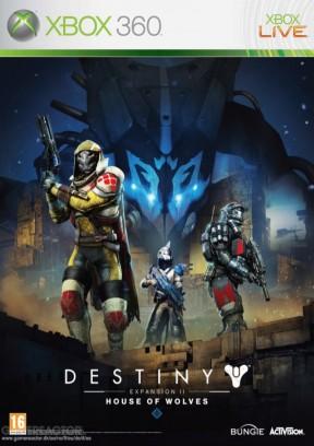 Destiny - Il Casato dei Lupi Xbox 360 Cover