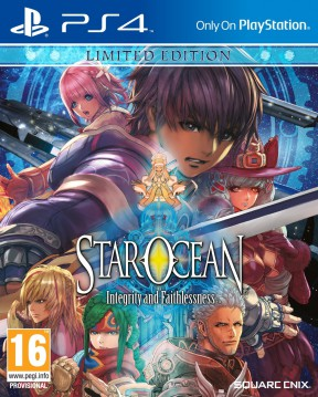 Star Ocean: Integrity and Faithlessness PS4 Cover