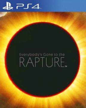 Everybody's Gone to the Rapture PS4 Cover
