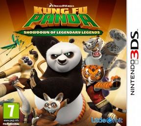 Kung Fu Panda: Scontro Finale delle Leggende Leggendarie 3DS Cover