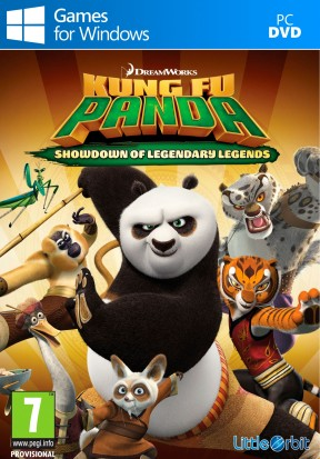 Kung Fu Panda: Scontro Finale delle Leggende Leggendarie PC Cover