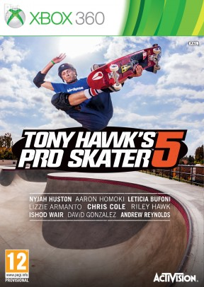 Tony Hawk's Pro Skater 5 Xbox 360 Cover