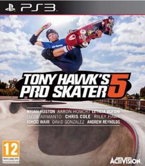 Tony Hawk's Pro Skater 5 PS3 Cover