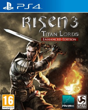Risen 3: Titan Lords - Enhanced Edition PS4 Cover