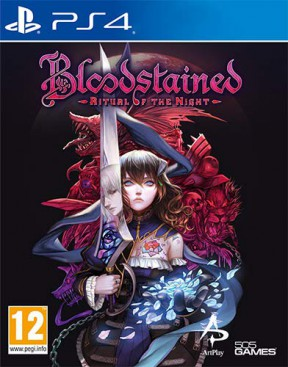 Bloodstained: Ritual of the Night PS4 Cover