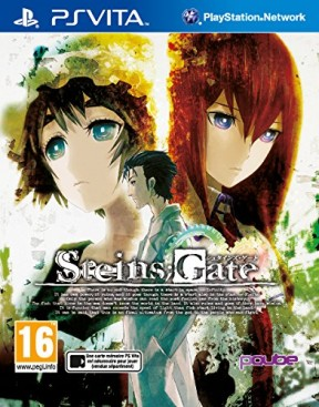 Steins;Gate PS Vita Cover