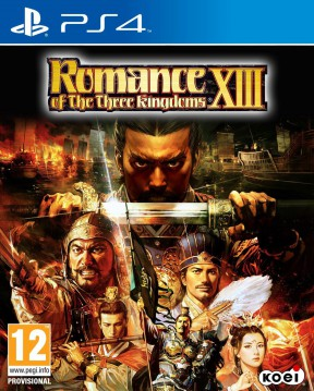 Romance of the Three Kingdoms XIII PS4 Cover