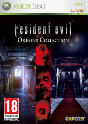 Resident Evil: Origins Collection Xbox 360 Cover