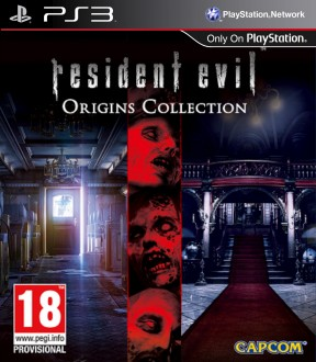 Resident Evil: Origins Collection PS3 Cover