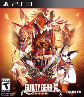 Guilty Gear Xrd: Sign PS3 Cover