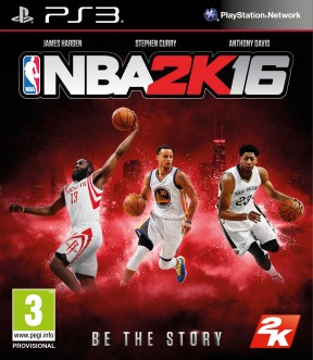 NBA 2K16 PS3 Cover