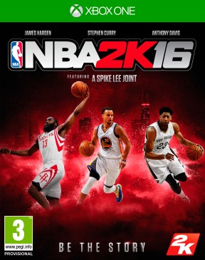 NBA 2K16 Xbox One Cover