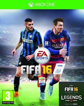 FIFA 16 Xbox One Cover