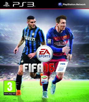 FIFA 16 PS3 Cover