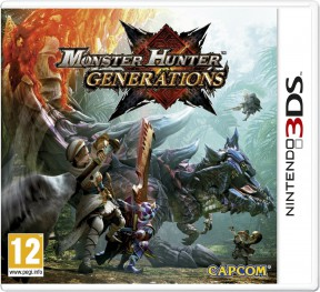 Monster Hunter Generations 3DS Cover