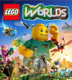 LEGO Worlds PC Cover