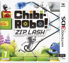 Chibi-Robo! Zip Lash 3DS Cover