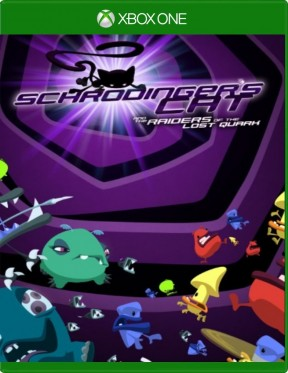 Schrödinger's Cat e i Viaggiatori del Quark Perduto Xbox One Cover