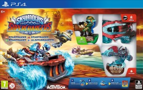 Skylanders SuperChargers PS4 Cover