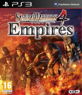 Samurai Warriors 4: Empires PS3 Cover